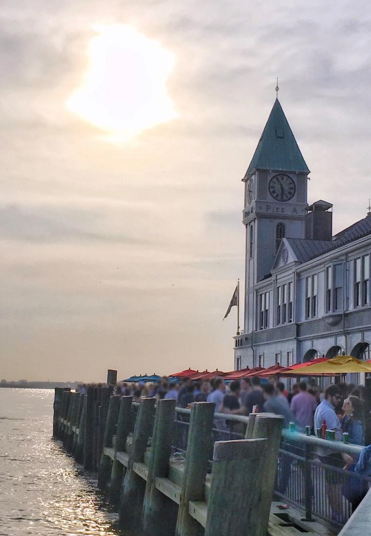Battery Park: Pier A