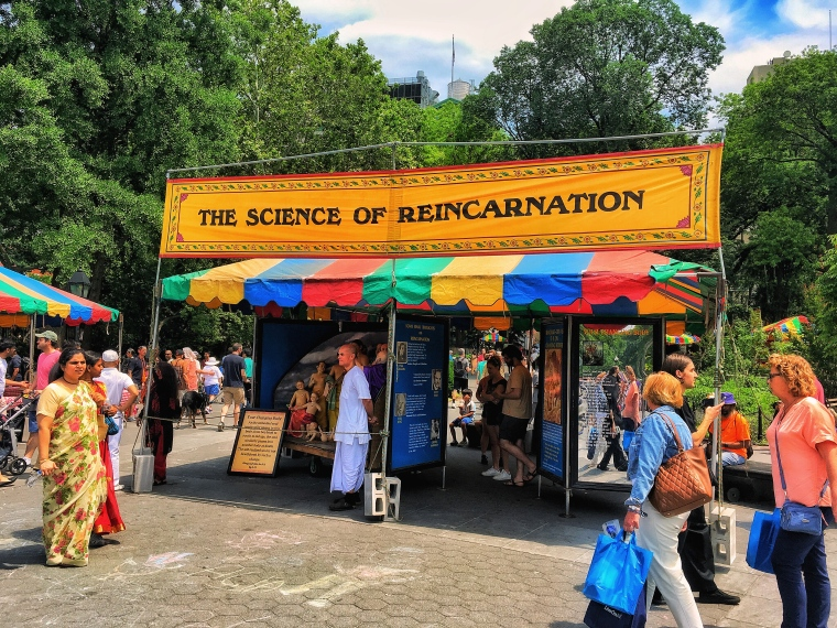 The Hare Krishna Festival of India